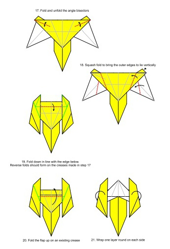How To Make Origami Star Wars C3po